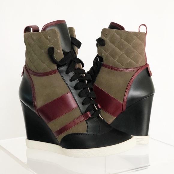 Chloe Shoes - Chloe Kasia Wedge Sneaker